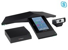 Polycom RealPresence Trio Video Conferencing System with Skype for Business support