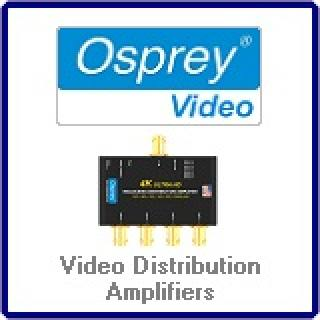 Video Distribution Amplifiers