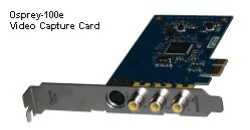 Osprey-100e PCIe based Analogue Video Capture Card
