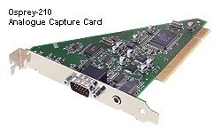 Osprey-210 PCI Analogue Video Capture Card with Stereo Audio