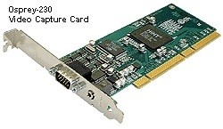 Osprey-230 PCI-x Analogue Video Capture Card with Stereo Audio