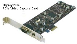 Osprey-260e PCIe Analogue Video Capture with Stereo Audio