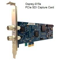 Osprey-815e Single Channel High-Definition SDI Audio/Video Capture Card
