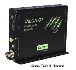 Osprey Talon G1 Encoder with 3G/HD/SD SDI, HDMI and Composite video inputs