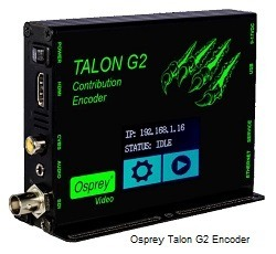 Osprey Talon G2 Touchscreen Encoder with 3G/HD/SD SDI, HDMI and Composite video inputs
