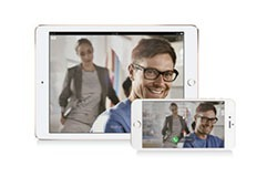 Yealink VC Mobile software for iOS and Android devices